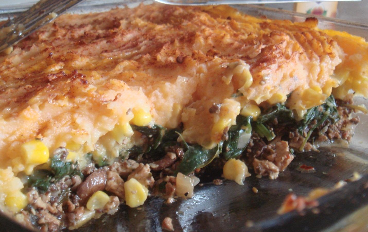 Vegan Sherperd's pie