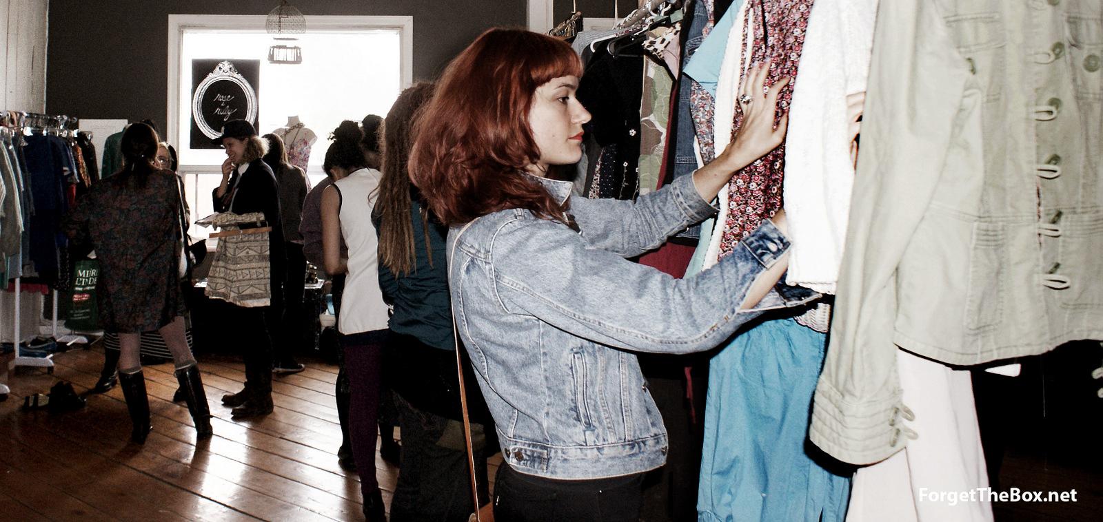Spring Fling: Clothing Exchange & Sale - Photos by Iana Kazakova