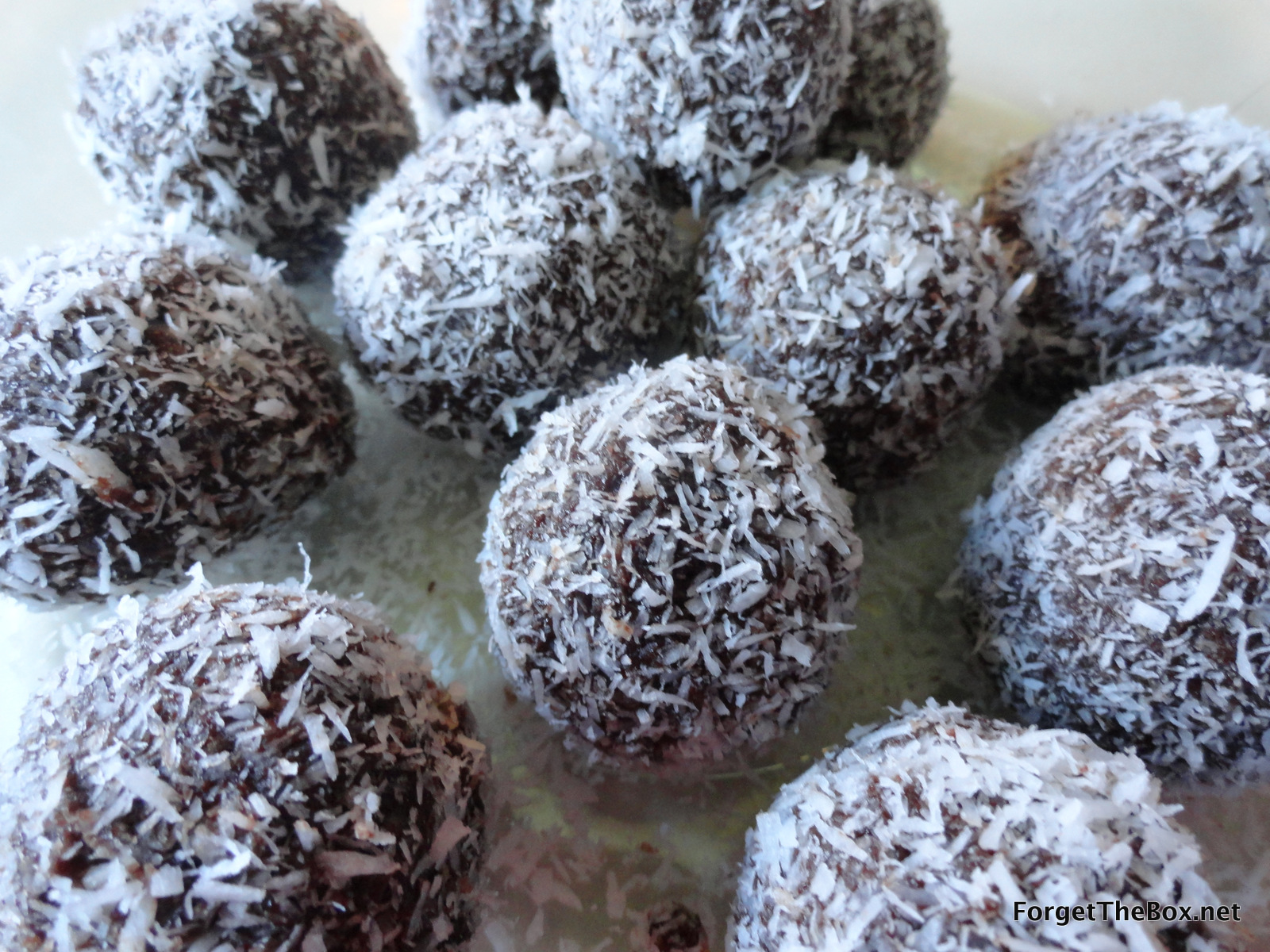vegan brownie balls
