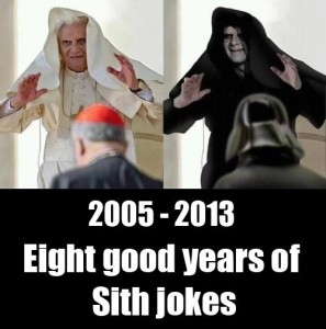 pope palpatine eight years