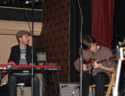 Jesse O'Brien (also played with Colin James this week) and Michael Timmins (Cowboy Junkies)