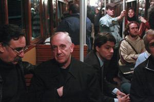 bergoglio subway