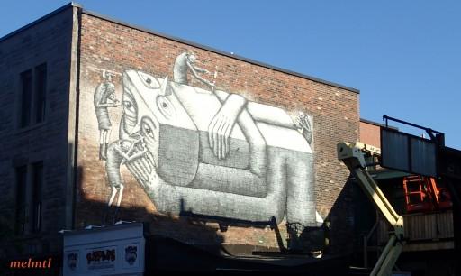 phlegm mural montreal