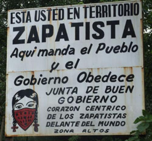 zapatista sign