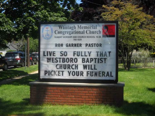 live your life westboro