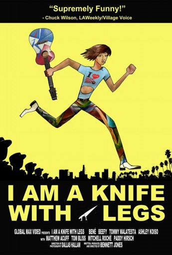 I am a Knife With Legs poster
