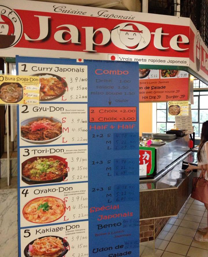 Japote - real fast food in the Faubourg