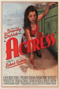 Actress poster