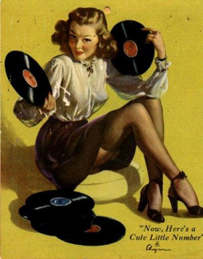 music and sex vintage records 2