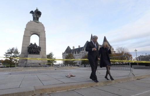 Ottawa shooting Harper