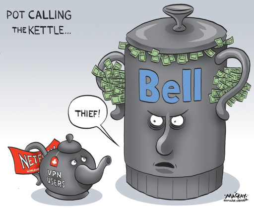 Editorial cartoon by Graeme MacKay, The Hamilton Spectator - Friday June 5, 2015