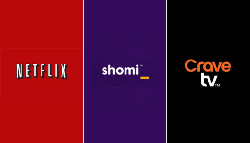 shomi crave tv netflix