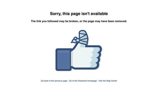 fb not available
