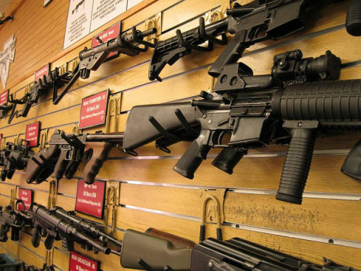 Image Gun Store via Flickr Creative Commons