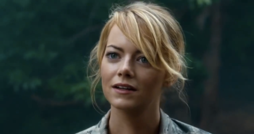 Emma Stone as Allison NG in Aloha