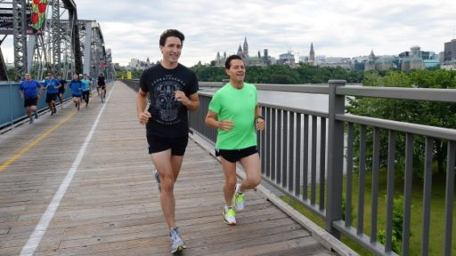 trudeau nieto jogging three amigos summit